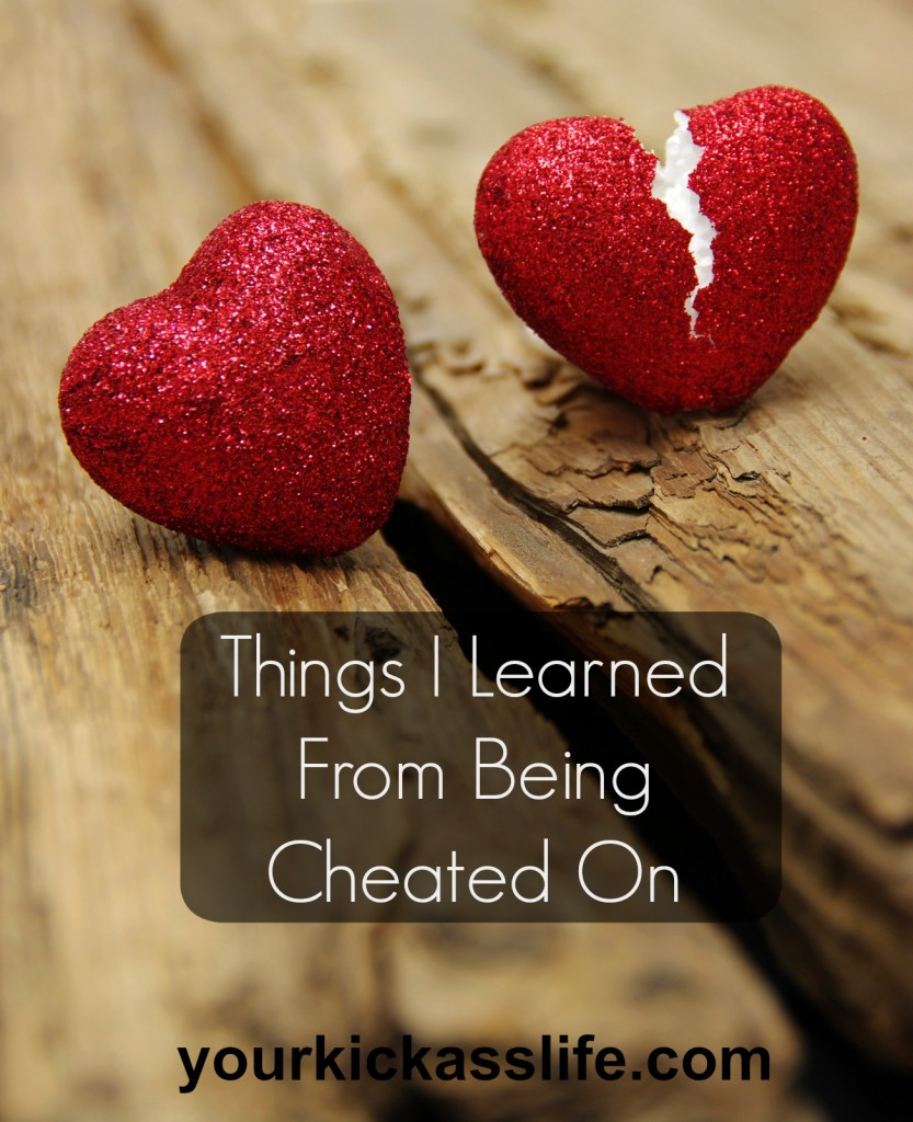 cheated on