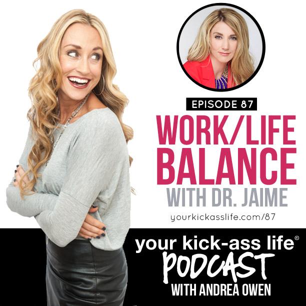 Episode 87: Finding work/life balance with Dr. Jaime Kaluga
