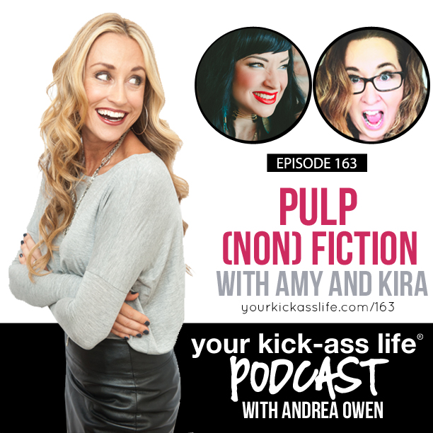 Episode 163: Pulp (Non) Fiction with Kira and Amy