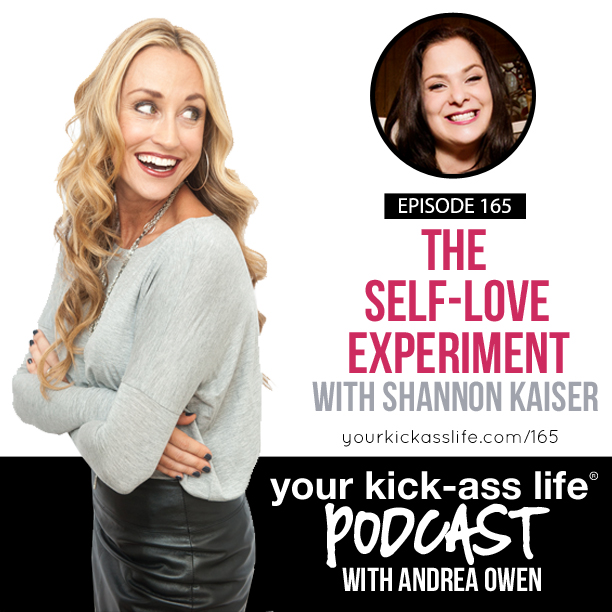 Episode 165: The Self-Love Experiment with Shannon Kaiser