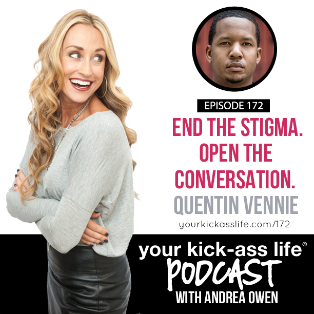 Episode 172: End the stigma. Open the conversation.