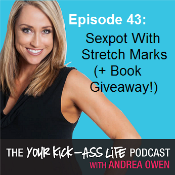 Episode 43: Sexpot With Stretch Marks (+ Book Giveaway!)