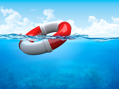 What to do when you feel like you're drowning