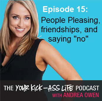 """Episode 15: People Pleasing, friendships, and saying """"no"""""""